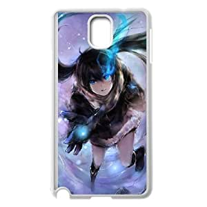 Black Rock Shooter Samsung Galaxy Note 3 Cell Phone Case White 218y-876622
