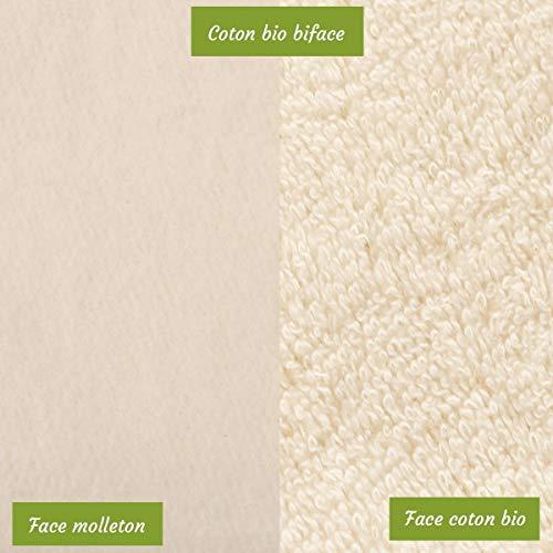 Bébé-toallitas lavables materia de bambú, color beige: Amazon.es: Belleza