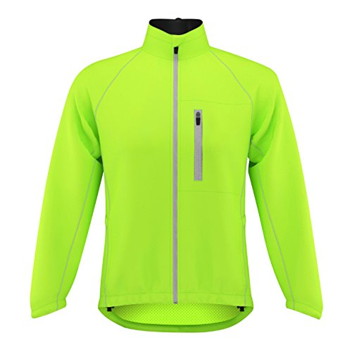 ProAthletica Ladies Cycling/Running Rain Jacket High Visibility Breathable Wind/Waterproof