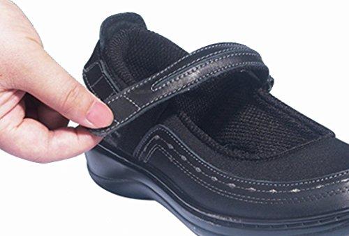 Monter Des Chaussures Avec Fermeture Velcro Pour Les Femmes Rh0odxxZ