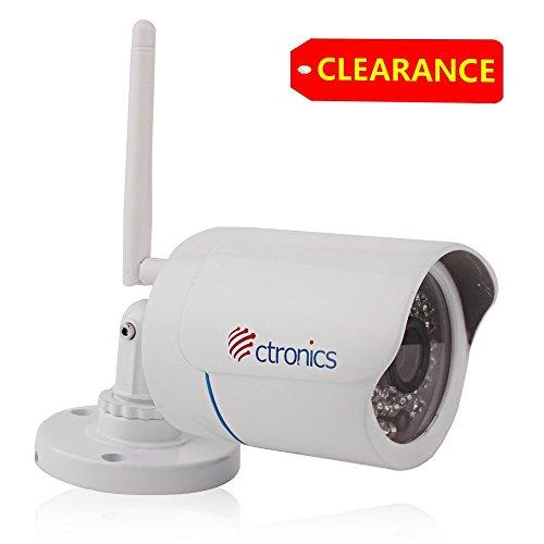 Ctronics Camera Security outdoor Ctipcw 123c720pw product image