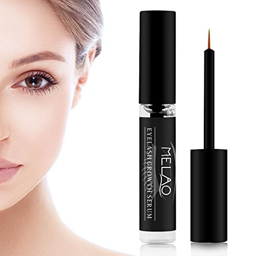 Eyelash Growth Serum, Eyelash Growth Enhancer Natural Serum for Women, Grows Thicker Fuller Lashes Boost Regrowth, 7.5ml