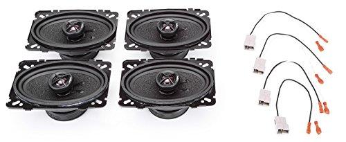 1988-1994 GMC Sierra Complete Premium Factory Replacement Speaker Package by Skar Audio