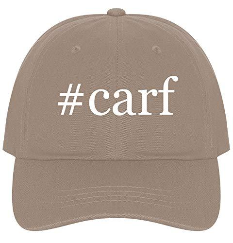 (The Town Butler #Carf - A Nice Comfortable Adjustable Hashtag Dad Hat Cap, Khaki, One Size)