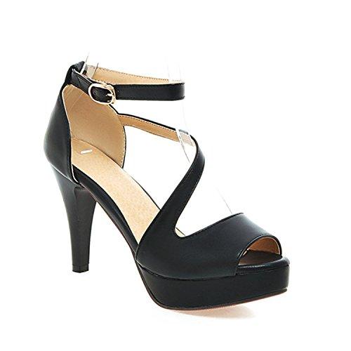 43 Sandaalit 9 Kengät Musta Alusta Koko Karl Avokärkinen Naisten Korkokengät Conner Hyvät Beige qvUP1