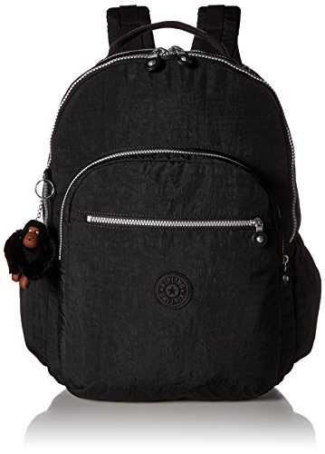 Kipling Seoul GO XL Black Laptop Backpack (Kipling Laptop)