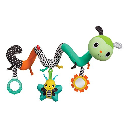 - Infantino Spiral Activity Toy Caterpillar