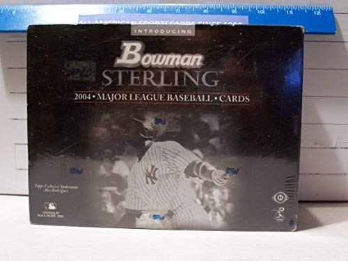 2004 Bowman Sterling Baseball - 2004 BOWMAN STERLING BASEBALL FACTORY SEALED BOX