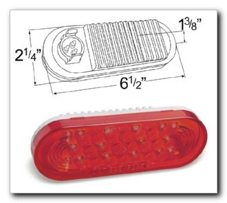 Grote 53962 Red Automotive Accessories