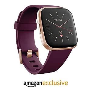 Fitbit Versa 2 - Smartwatch de salud y forma física, Burdeos