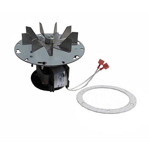 Quadra-Fire Pellet Stoves, Santa-Fe, Castile, Contour Exhaust Combustion Blower Motor Assembly - 6