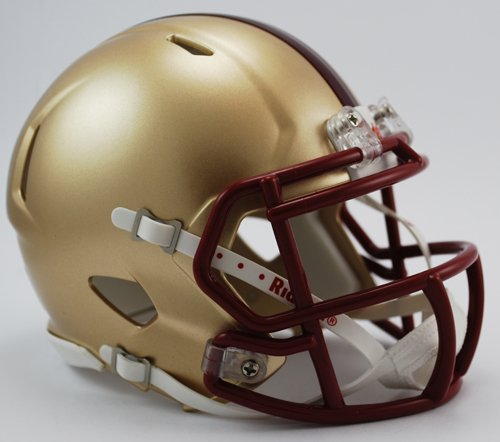 (BC Boston College Eagles Riddell Speed Mini Football Helmet - New in Riddell)