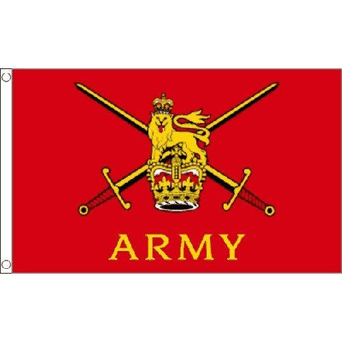 British Army Large Flag 8Ft X 5Ft Armed Forces Day Decoration Banner by Unknown (8 Foot British Flag compare prices)