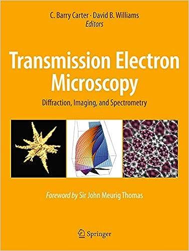 Transmission Electron Microscopy: Diffraction, Imaging, and Spectrometry: Amazon.es: Carter, C. Barry, Williams, David B.: Libros en idiomas extranjeros