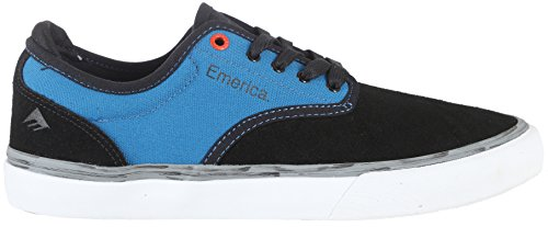 Emerica Skateboard Shoes Wino G6 x Deathwish Black/Blue Size 9.5 - Reynolds Skateboard Shoe
