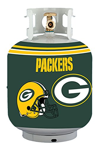 NFL Green Bay Packers Propane Tank Cover/5 Gal. Water Cooler Cover, (Green Tank Cover)