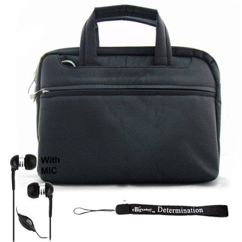 black-travel-organized-carrying-slim-messenger-bag-case-with-optional-adjustable-shoulder-strap-for-