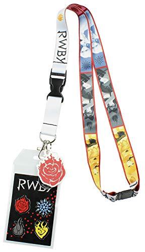 (RWBY Emblems ID Lanyard Badge Holder with 2