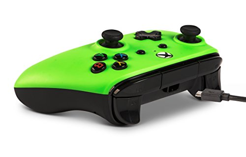 PowerA Enhanced Wired Controller for Xbox One - Green 5