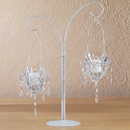 Chrome Candle Holder - 6