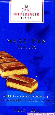 Marzipan Bars by Niederegger - Milk Chocolate (3.5 ounce)