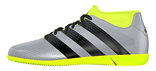 adidas Ace 16.3 Primemesh In J, Botas de Fútbol para Niños Plateado (Plamet / Negbas / Amasol)