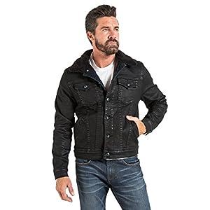 Stitch's Jeans Men's Sherpa & Denim Jacket