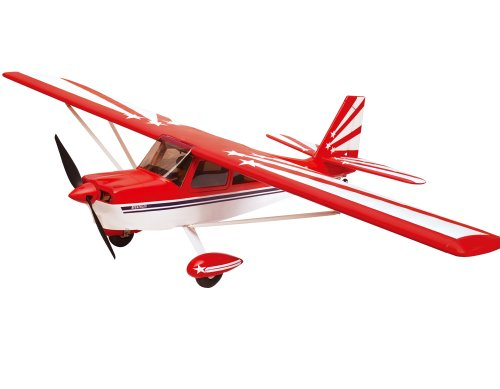 2.4Ghz 6-Channel Radio Control Super Decathlon 1.4m Giant Scale Aerobatic Trainer Airplane RTF EPO High Crash Resistance + Brushless Setup w/Flaps (Rc Controlled Remote Airplane Aerobatic)