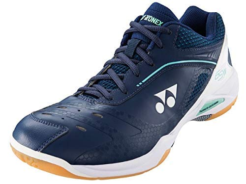 YONEX 65Z Wide Shoes (9) Navy and White