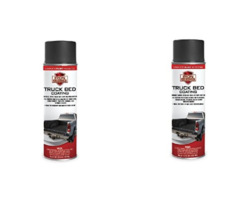 2 Cans Total Iron Armor Spray On Pickup Truck Bed Liner Trailer Coating