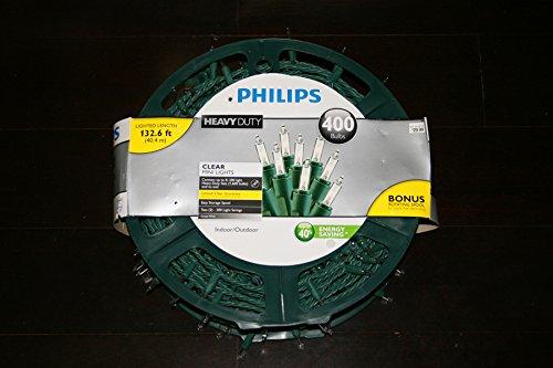 Philips Heavy Duty Clear Mini Lights 400 Bulbs by Philips