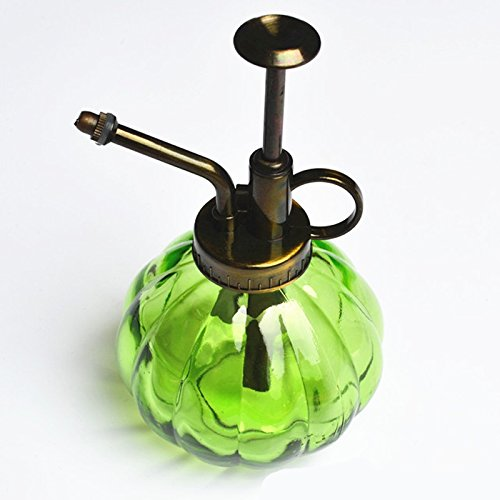 JUJU MALL-Antique Glass Plant Flower Watering Pot Spray Bottle Garden Hairdressing - Jersey New Mall Garden