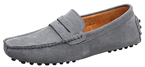 CFP - Botas mocasines hombre gris
