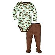 Organic Cotton Bodysuit Set Bears (6 Month)