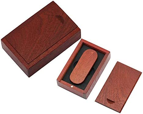 64GB Caja de Madera de Palo de Memoria de Almacenamiento USB 2.0 ...