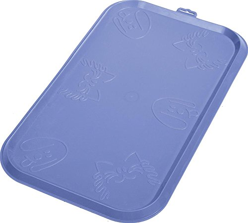 Large Nonskid Rimmed Pet Food Dinner Mat