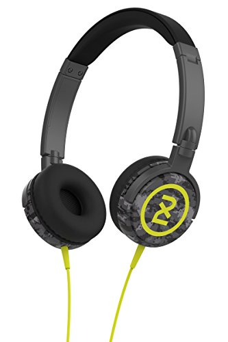 2XL Shakedown Headphone with Full Suspension X5SHGZ-847 (Dark Gray/Black/Hot Lime)
