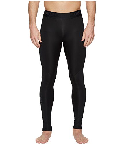adidas Men's Training Alphaskin Sport Long Tights, Black, Large
