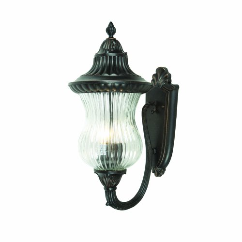 Yosemite Home Decor 5695ORB2-M Matteo Collection Three Lights Incandescent Exterior, Oil Rubbed Bronze Finish, 72 Piece