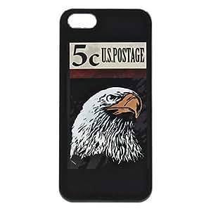 TY-Caso duro del patrón del águila para el iphone 5/5s