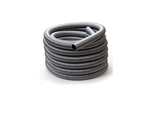 Powr-Flite K1107 Super Heavy-Duty Vacuum Hose, 1-1/2'' x 50', Silver/Black by Powr-Flite