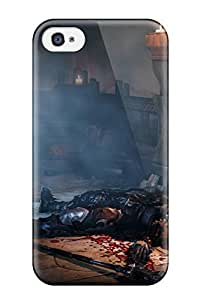 Awesome Lords Of The Fallen Flip Case With Fashion Design For Iphone 4/4s