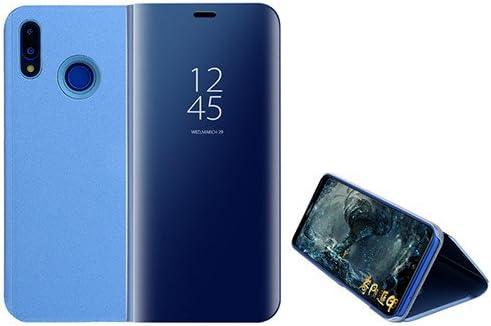 Funda® Espejo Enchapado Flip Funda para Huawei P20 Lite (Cielo ...