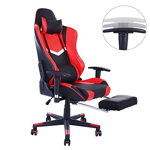 Gaming Chair Memory Foam Pc Gaming Chair Pu Leather
