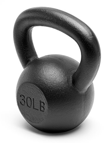 Unipack Premium Powder Coated Solid Cast Iron Kettlebell