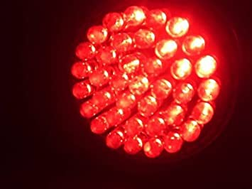 Amazon.com: Anti-Aging Red LED Light Therapy 38 LED Bulb for Fine ...:Anti-Aging Red LED Light Therapy 38 LED Bulb for Fine Lines & Wrinkles 660nm,Lighting
