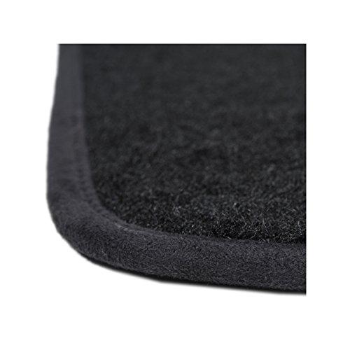 30%OFF Tapis Auto - Sur Mesure - Tapis de sol pour Voiture - 3 Pièces - Antidérapant - Moquette noir 900g/m² - Finition Velours - Gamme Star - 1763695