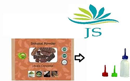 Herbal Shikakai Powder (Acacia Concinna) 100% Natural Pure Powder With Free Applicator js (500GRM)