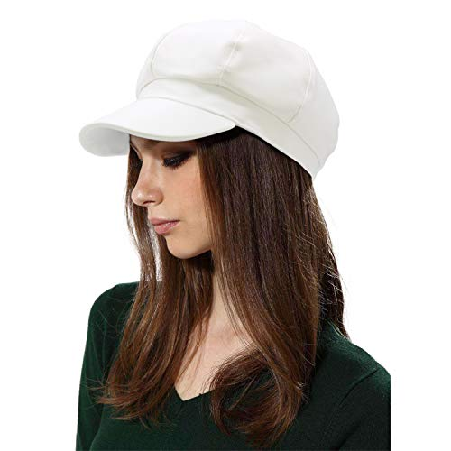 WETOO Women Newsboy Hat Cap for Ladies Visor Beret -