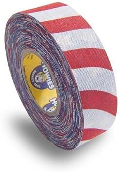 Howies - Cinta adhesiva de Hockey Stick, diseño de bandera de Estados Unidos, 2,5 x 50 m: Amazon.es: Deportes y aire libre